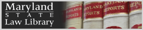 Md State Law Library Logo