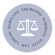 Thurgood Marshall State Law Library Logo
